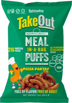 Take Out Puffs, Meal In-A-Bag — Pizza Partay