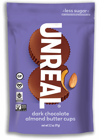 UNREAL - Dark Chocolate Almond Butter Cups