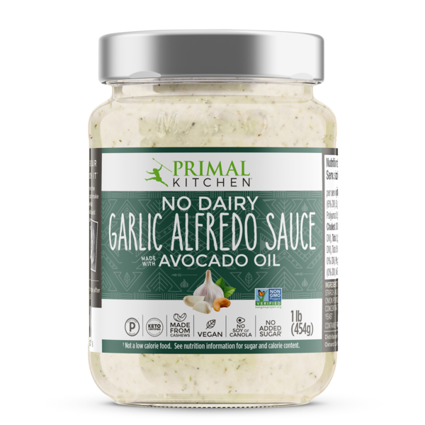 Primal Kitchen - No Dairy Garlic Alfredo Sauce