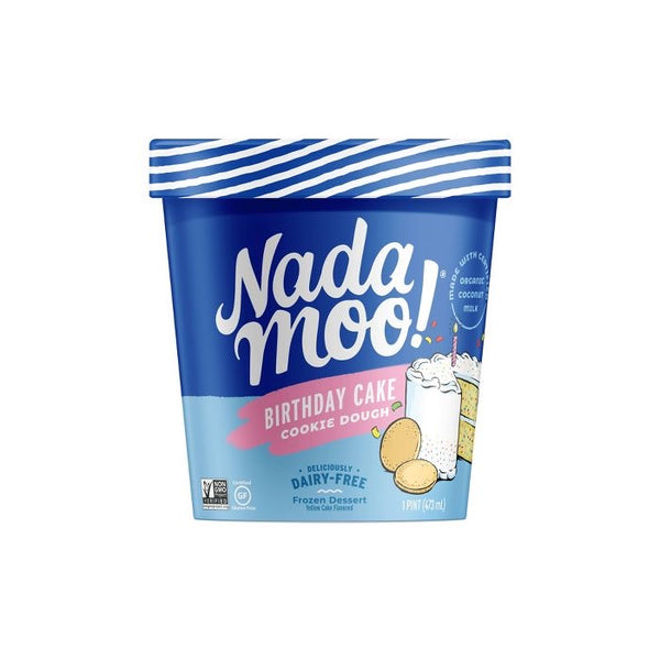 Nada Moo — BIRTHDAY CAKE COOKIE DOUGH