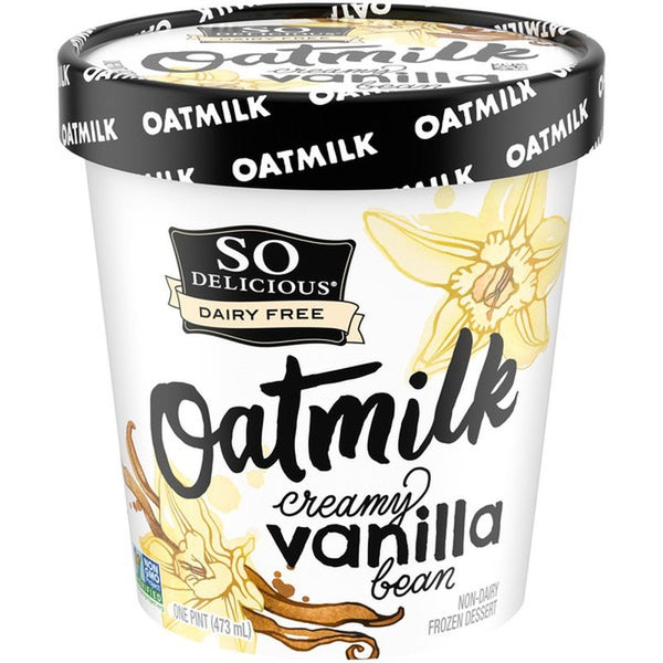 So Delicious – Oat Milk Vanilla Bean, Non-Dairy Frozen Dessert
