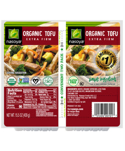 Nasoya — ORGANIC EXTRA FIRM TOFU, TWIN PACK