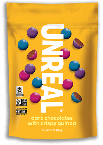 Unreal - Dark Chocolate Crispy Gems