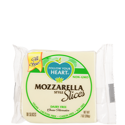 Follow Your Heart — Mozzarella Slices