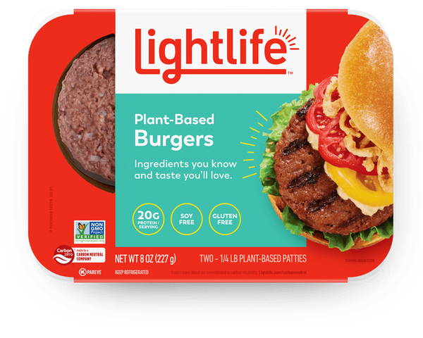 Lightlife — Plant Based Burgers