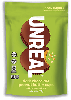 UNREAL - Dark Chocolate Crispy Peanut Butter Cups