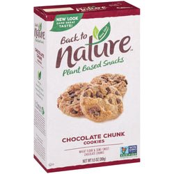 Back to Nature — Chocolate Chunk Cookies