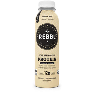 Rebbl - Cold-Brew Coffee Plant Protein Elixir