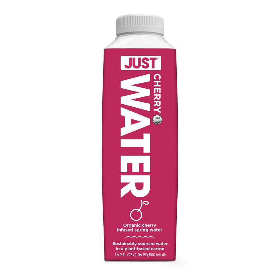 JUST Water - 100% Organic Cherry Infused - 16.9 fl oz