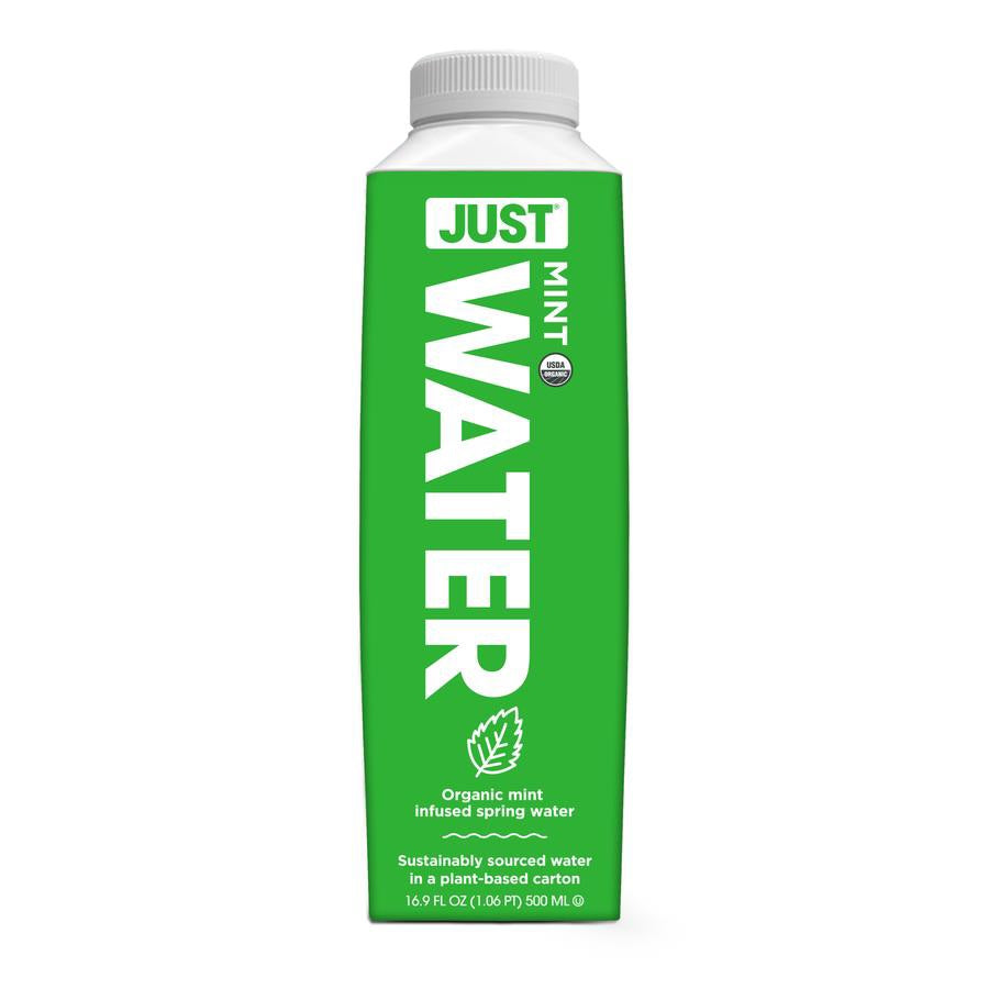 JUST Water - 100% Organic Mint Infused, 16.9 fl oz