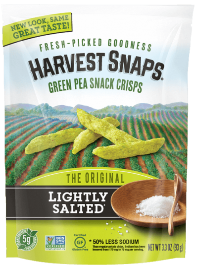 Harvest Snaps - Lightly Salted, 3.3oz
