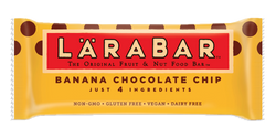 LÄRABAR – Banana Chocolate Chip, Fruit and Nut Bars, 1.6 oz