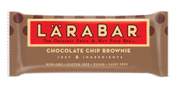 LÄRABAR – Chocolate Chip Brownie, Fruit and Nut Bars, 1.6 oz