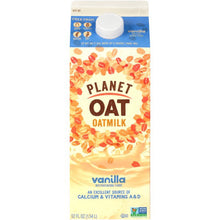 Planet Oat, Oatmilk — Vanilla, 52oz