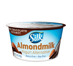 Silk – DARK CHOCOLATE COCONUT ALMONDMILK DAIRY-FREE YOGURT ALTERNATIVE
