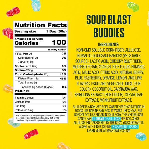 Smart Sweets – Sour Blast Buddies™