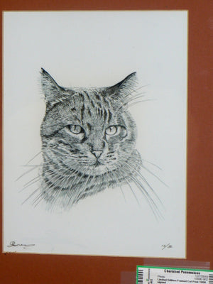 Limited Edition Cat Print