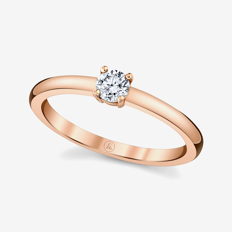Classic Stackable Diamond Ring