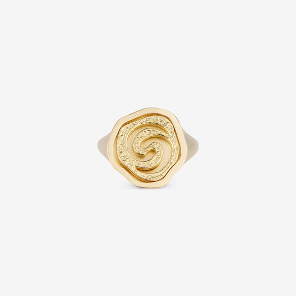Breath of Air Signet Ring