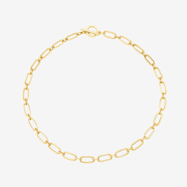 Amanda Oval Link Necklace