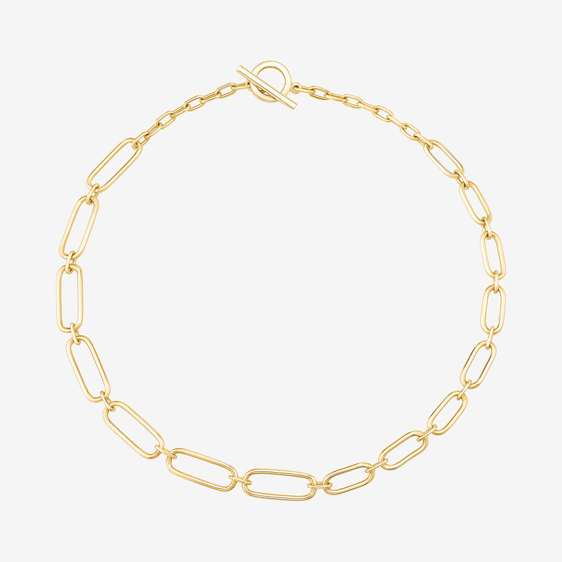 Amanda Choker Link Necklace