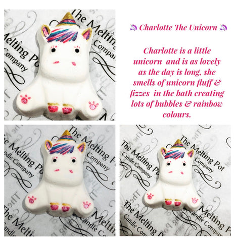 Charlotte the Unicorn Bath Bomb