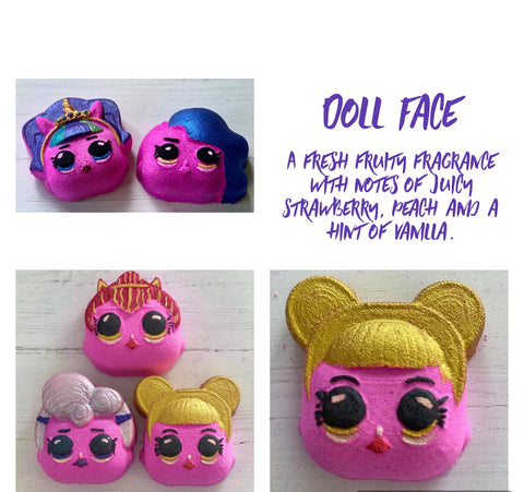 Doll face Bath Bomb