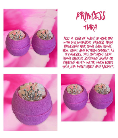 Princess Crown Bath Bomb