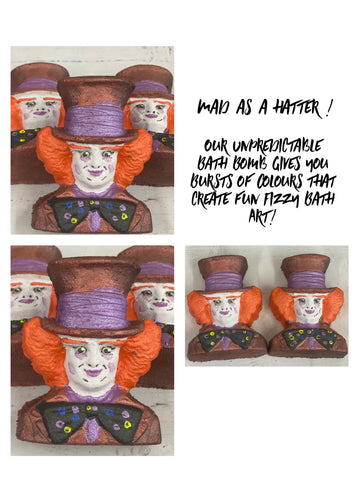Mad as a hatter bath bomb
