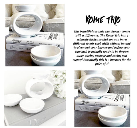 Rome Trio Wax Burner