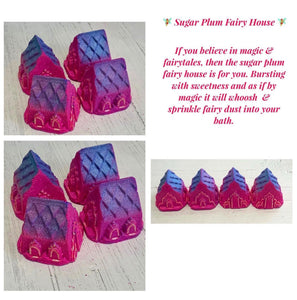 Sugar Plum Fairy House Bath Bomb