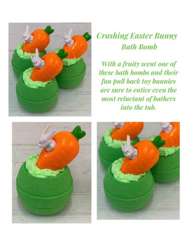 Crashing Bunny Bath Bomb