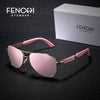 FENCHI Sunglasses Women Metal Hot Rays