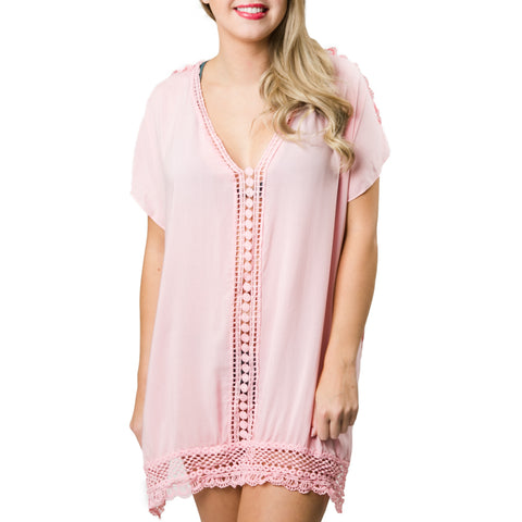 Amber Cover-Up: Blush Pink