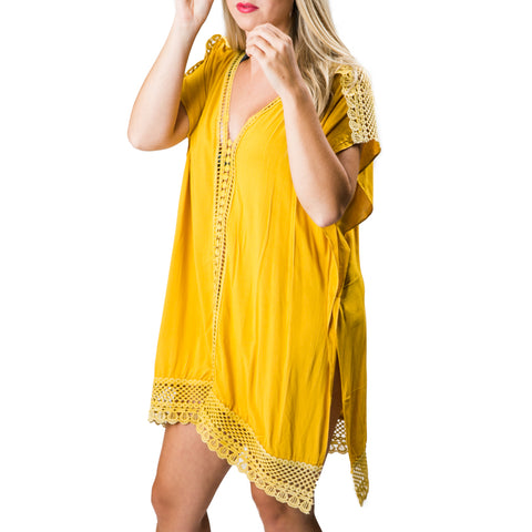 Amber Cover-Up: Yellow