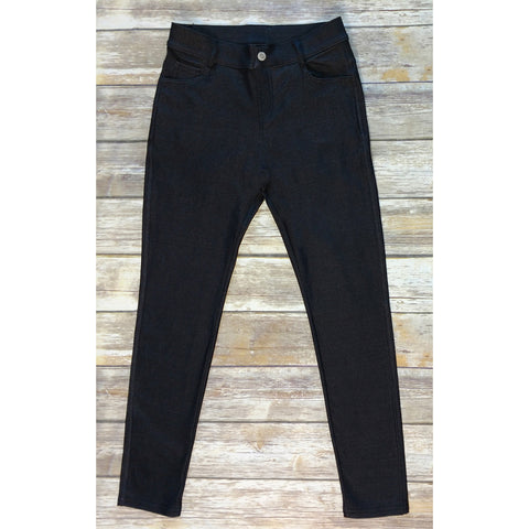 Black Jeggings - Our Best Selling Pull on Skinny Jeggings