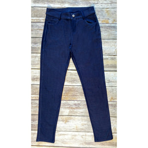 Navy Jeggings - Our Best Selling Pull on Skinny Jeggings
