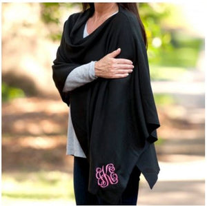 Black Chelsea Poncho (Lead Time 2 Weeks)