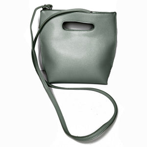 Small Cross Body Bag - Color Minty Sage
