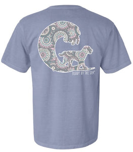 Buddy by the Sea - San Fran Short Sleeve Ice Blue Tee