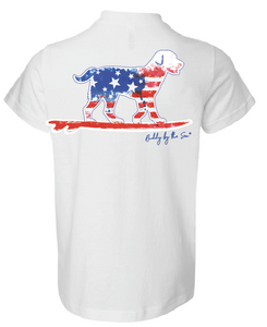 Buddy by the Sea - Flag Buddy Tee