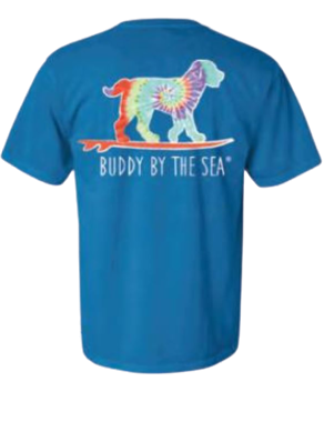 Buddy by the Sea - Tie Dye - Royal Caribe