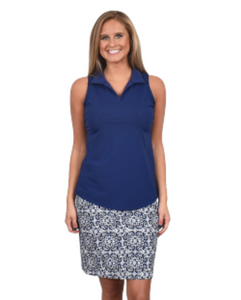 Southwinds by Spunkwear - Skort Fairway Navy Tahiti
