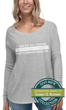 Load image into Gallery viewer, I Can Do All Things Through Christ Who Strengthens Me | Long Sleeve