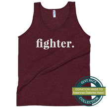 Load image into Gallery viewer, Fighter | Tri-blend Tank Top