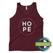 Load image into Gallery viewer, HOPE | Tri-blend Tank Top