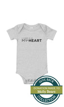 Load image into Gallery viewer, I carry it in my heart | Baby onesie 2