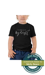 I carry it in my heart | Toddler Tee
