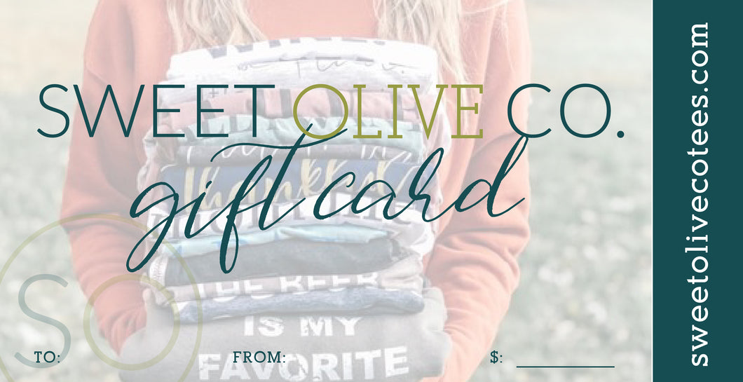 Sweet Olive Co. Gift Card