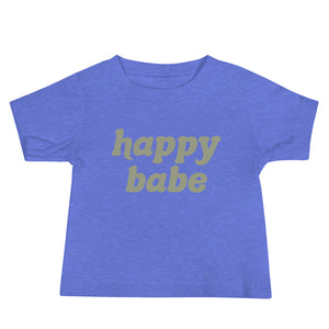 Happy Babe | Baby T-shirt